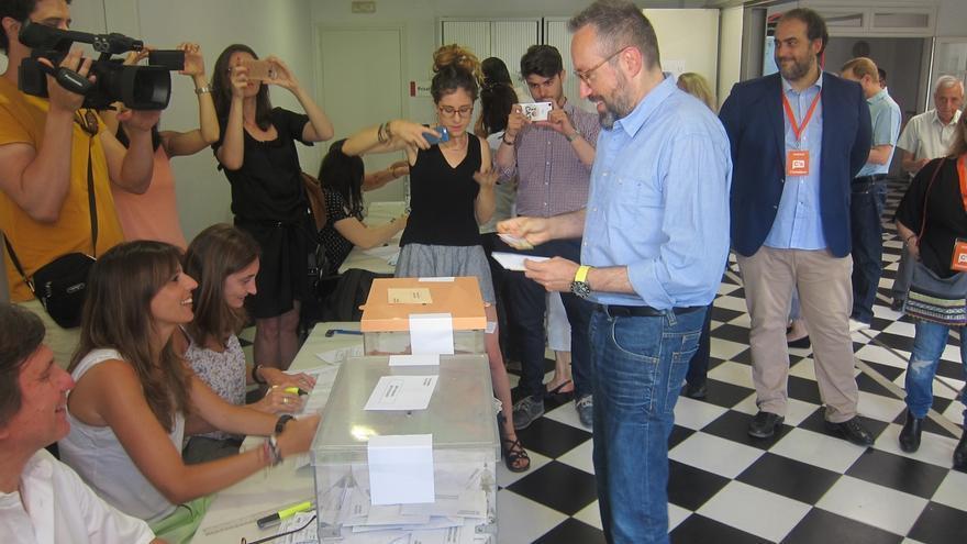 Girauta (C's) cree que una participación alta beneficiaría a su partido