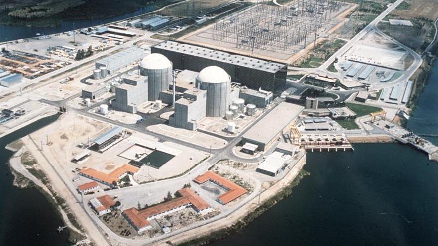 Central nuclear de Almaraz en Cáceres