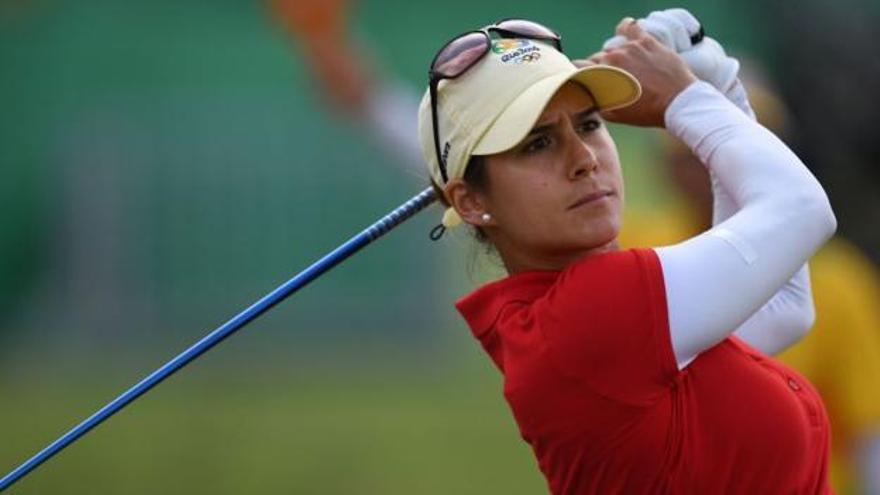 Azahara Muñoz, ganadora del Open de España por segundo año consecutivo
