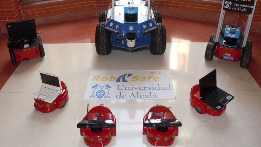 Prototipos del Grupo de Investigación Robesafe