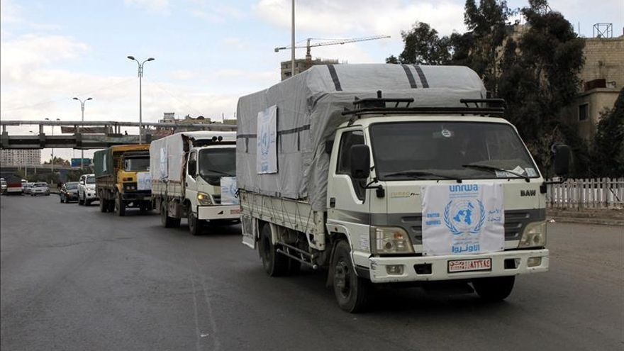 """Los refugiados palestinos, los """"grandes olvidados"""" de la guerra en Siria"""