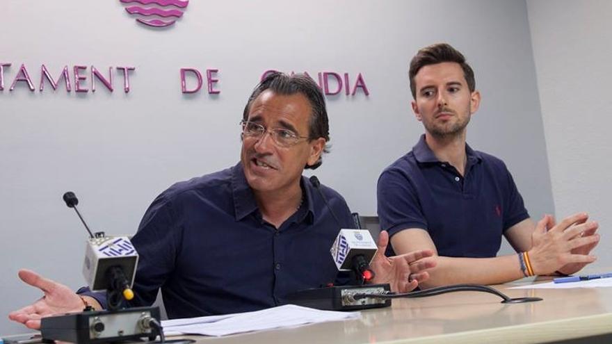Arturo Torró, ex alcalde de Gandia, y Víctor Soler, futuro diputado del PP en las Corts