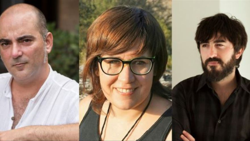Manel Mari, Bruna Generoso,  Constantino Molina, premiados por la Institució Alfons el Magnànim