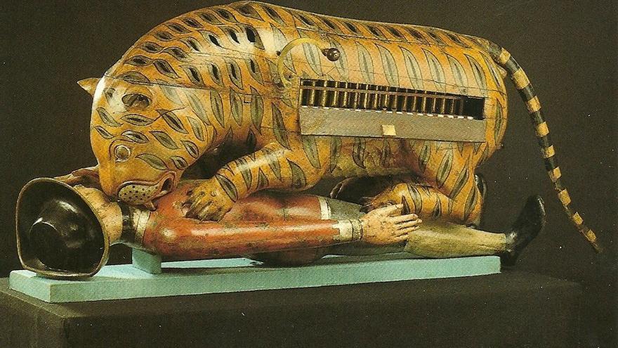 El sultán Tipu (de la India) odiaba a los británicos y amaba a los tigres