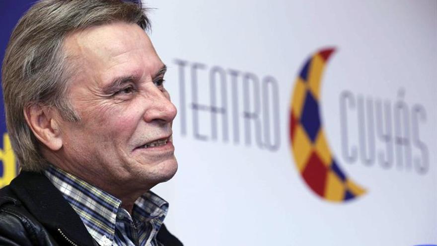 """El cómico canario Manolo Vieira presentó hoy en rueda de prensa su nuevo espectáculo """"Un, dos, tres... Probando. 3.0"""" que estrenará en el Teatro Cuyás el próximo 9 de diciembre."""