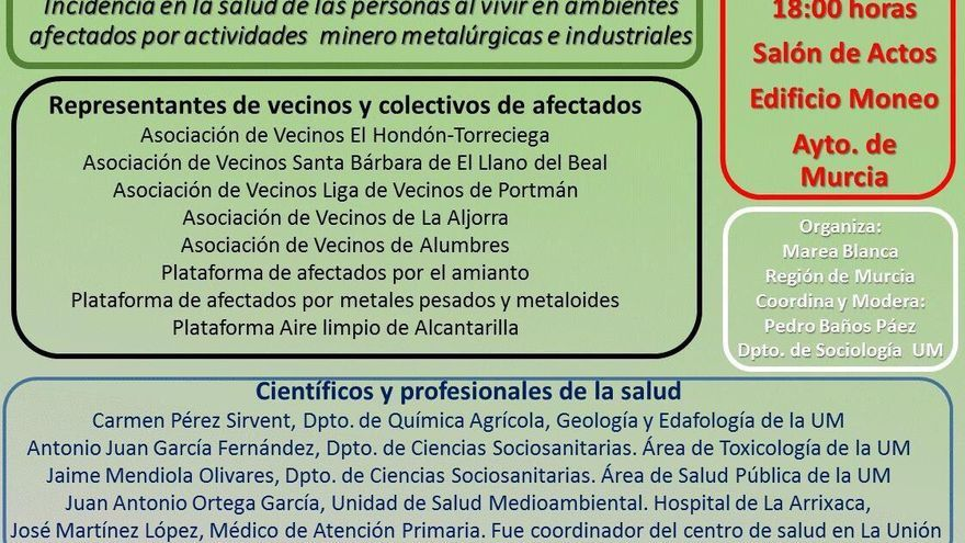 'Foro Salud y Ambiente: Incidencia en la salud de las personas que viven en ambientes afectados por actividades minero metalúrgicas e industriales'