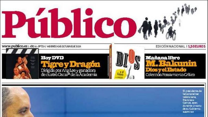De las portadas del día (09/10/09) #9