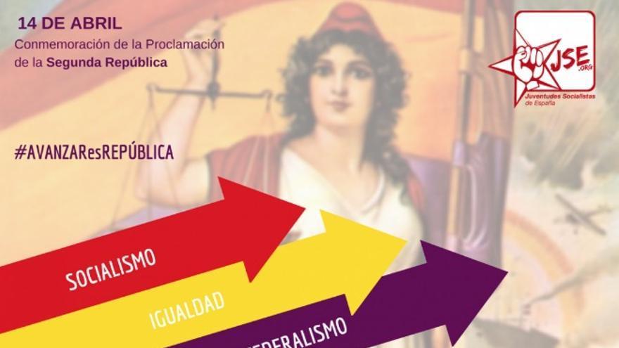 Imagen de la campaña de Juventudes Socialistas