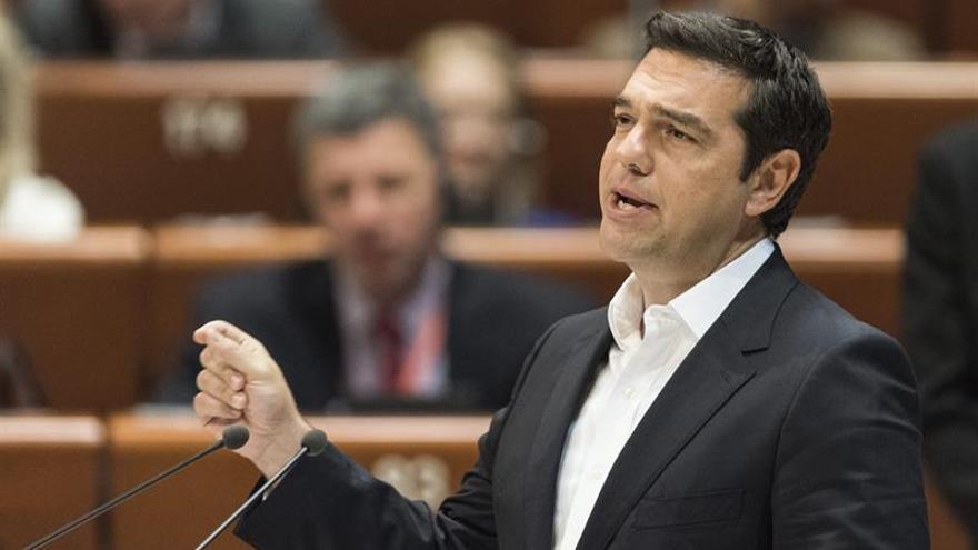 """Tsipras propone una reforma constitucional para una """"nueva Grecia"""""""