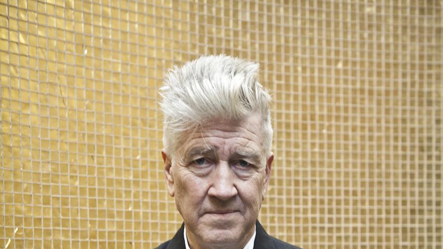 El cineasta David Lynch, en su visita al Rizoma Festival de Madrid en el año 2013