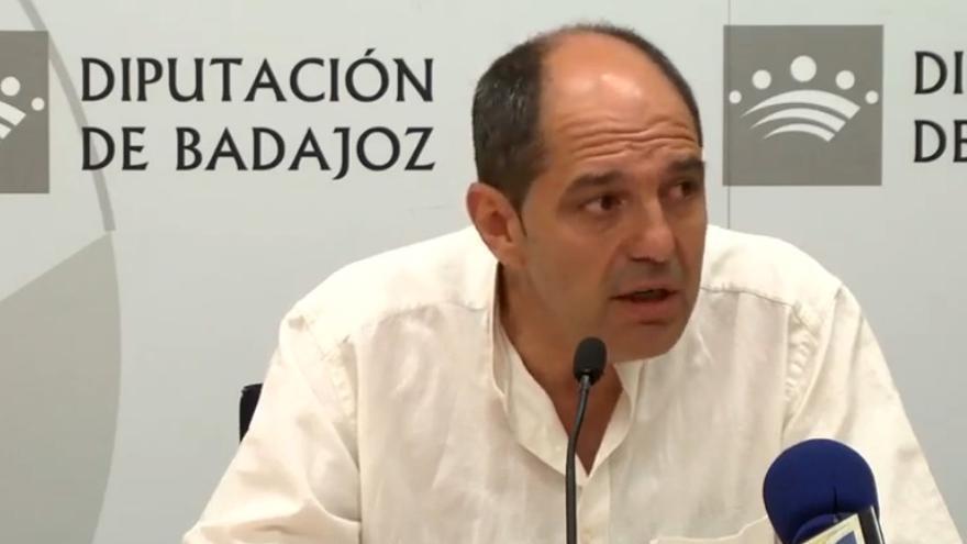 Ángel Vadillo, alcalde de Alburquerque