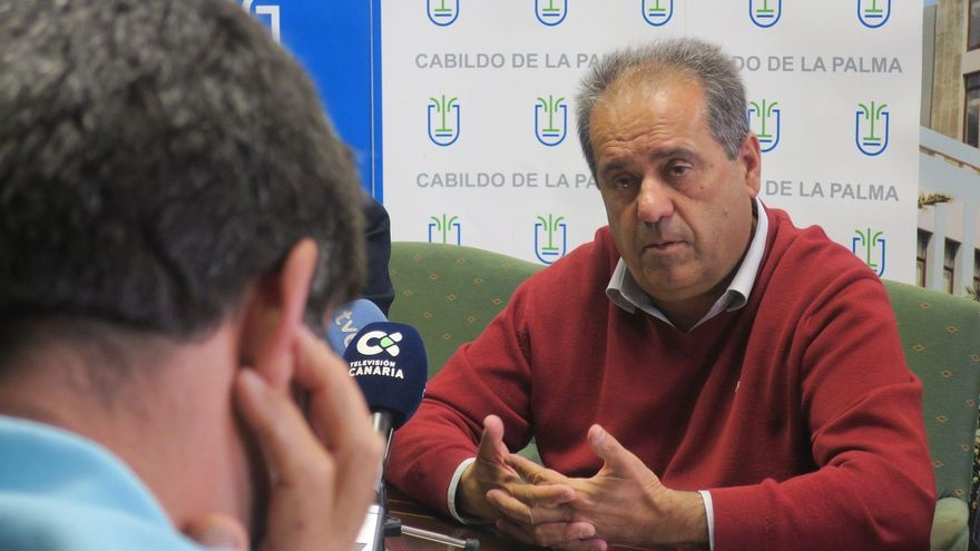José Luis Perestelo, vicepresidente y consejero de Recursos Humanos del Cabildo de La Palma.