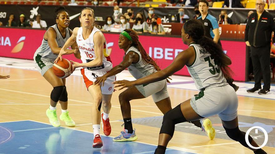Baloncesto Femenino España - Nigeria