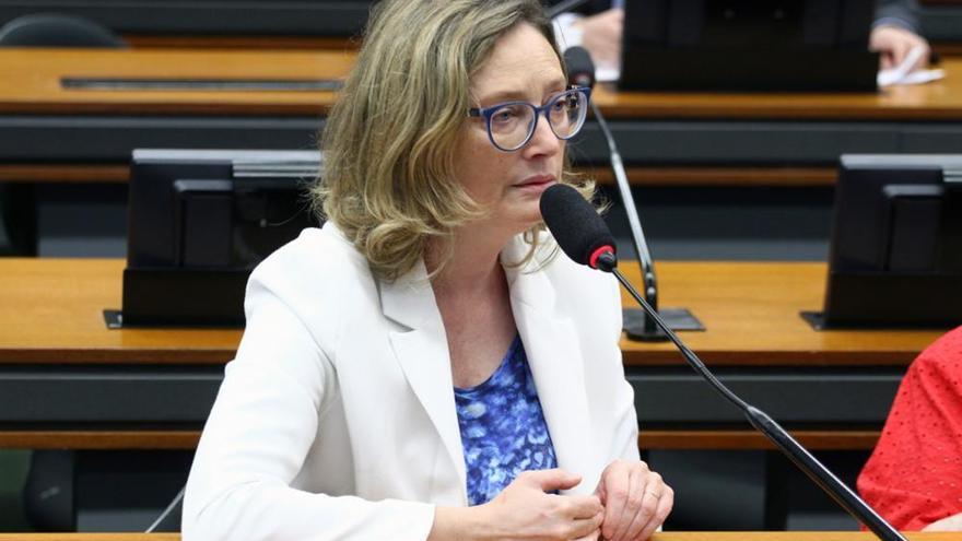 Maria do Rosário, diputada del Partido de los Trabajadores