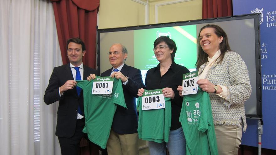 El 5 de junio se celebrará en Pamplona la III Marcha contra el cáncer, que suma 4.000 nuevos casos al año en Navarra