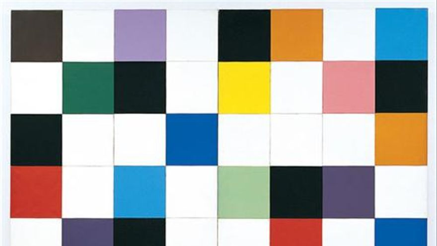 Colors for a large wall (1951) | Colección del MOMA