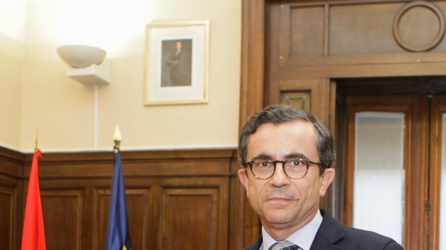 Francisco Javier Gómez Gálligo, director general del registro y del notariado del Ministerio de Justicia.