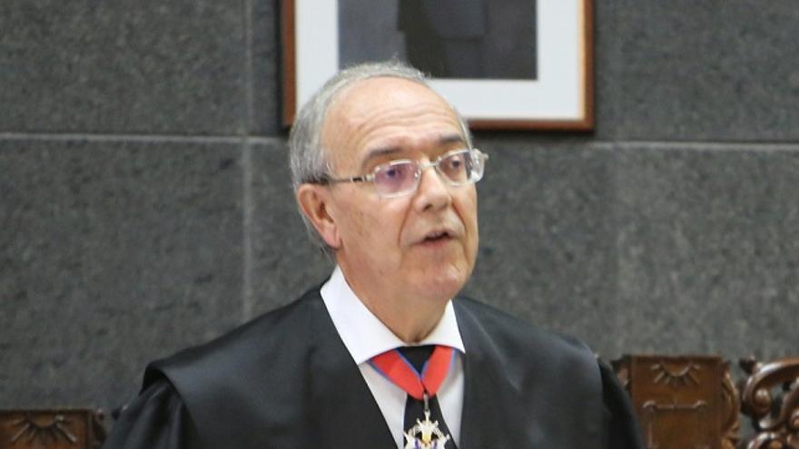 El fiscal general de Canarias, Vicente Garrido