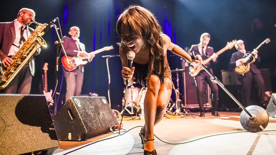 The Excitements en concierto.