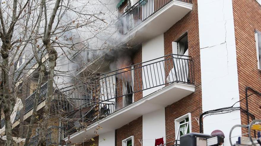 Al menos siete heridos en una explosión en una vivienda en Salamanca