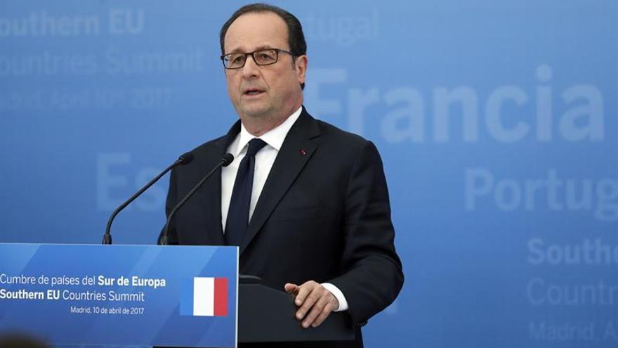 """Hollande cree que Damasco ya no tiene """"sentimiento de impunidad"""""""