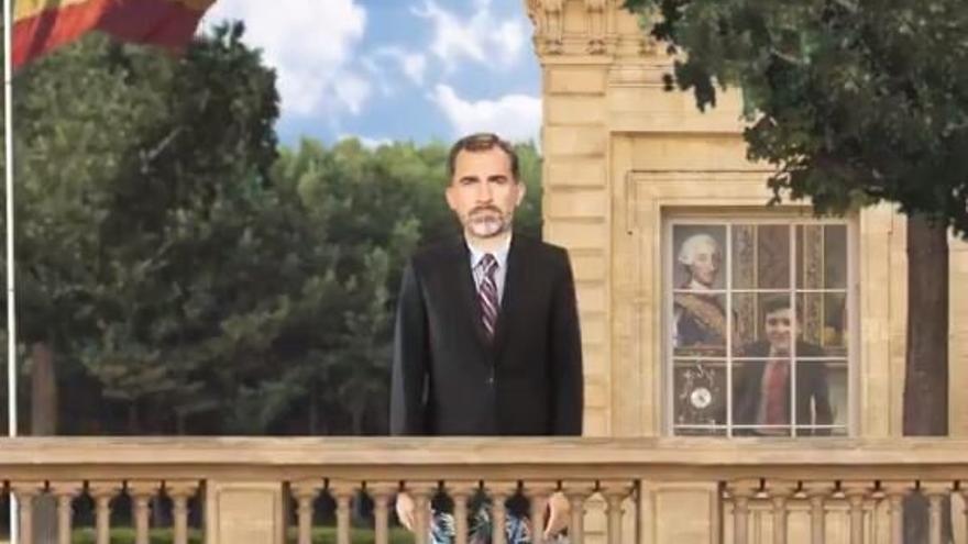 El Rey Felipe VI carcaturizado en el nuevo hilo de vídeos de United Unknow.