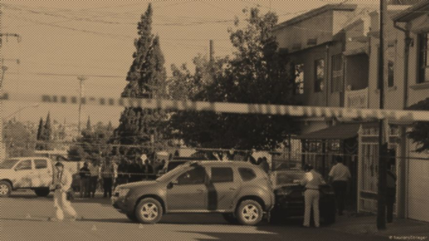 Imagen de la escena del crimen.