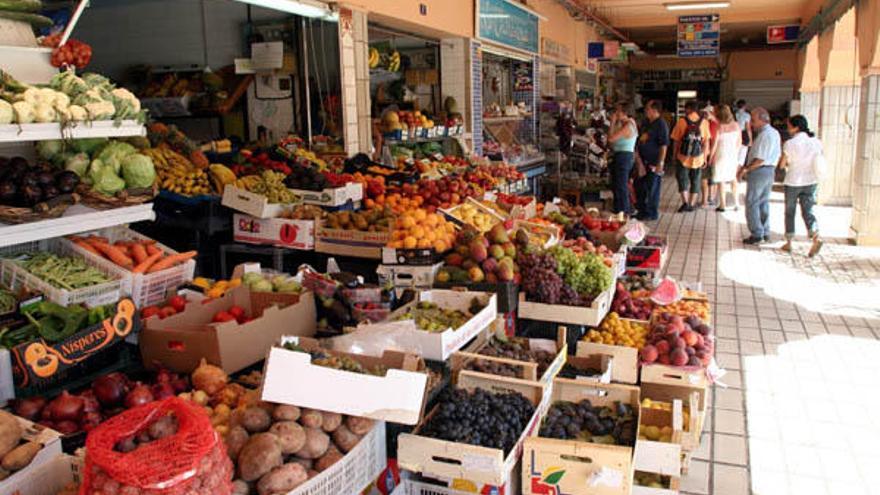 Mercado en Tenerife.