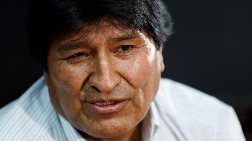 """Evo Morales denuncia crímenes de """"lesa humanidad"""" en Bolivia"""