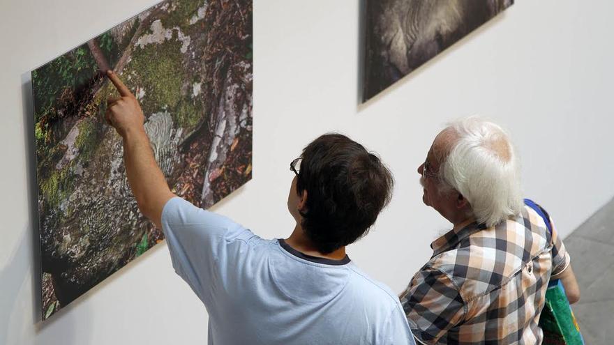 Exposición 'Escrito en Piedra'.