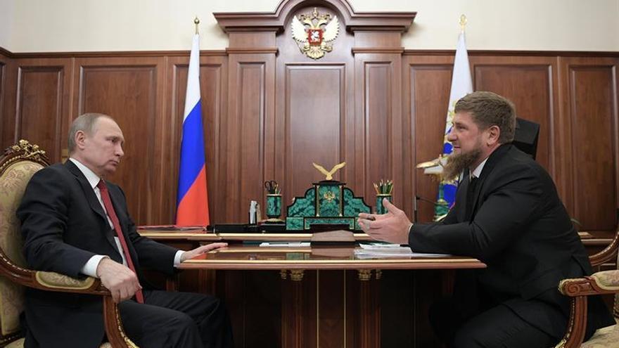 El líder chechén pide que se de sepultura al cuerpo de Lenin