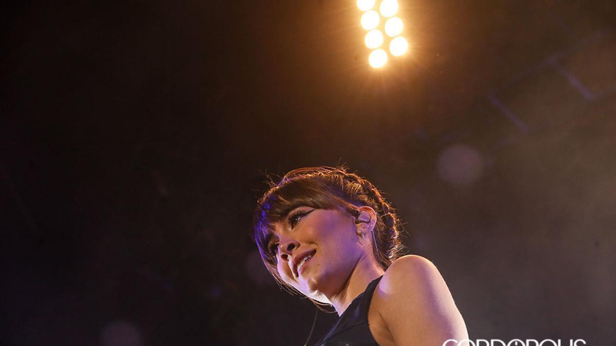 Aitana, en un concierto anterior