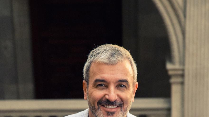 Jaume Collboni, en el ayuntamiento de Barcelona