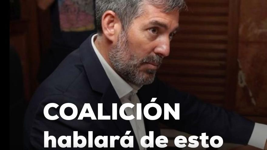 El PP calienta el debate de la nacionalidad canaria con un vídeo atacando a Gobierno, PSOE y Podemos