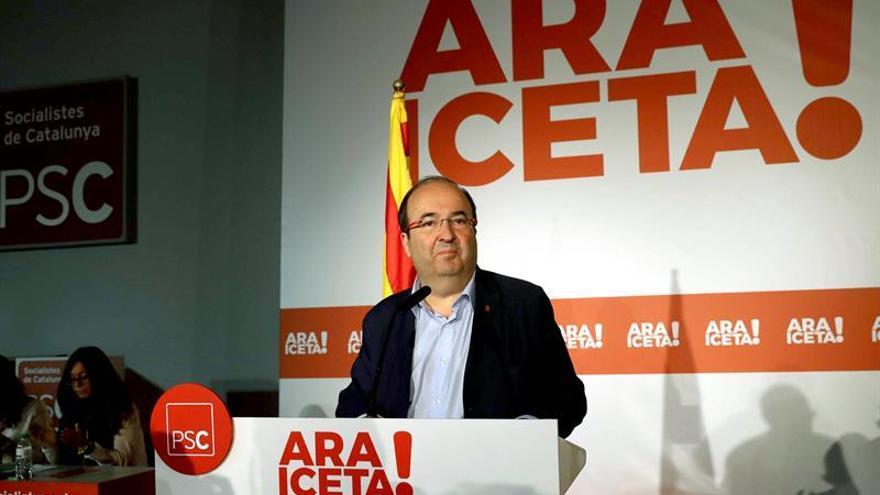 """Iceta reprocha al alcalde de Gimenells que se vaya con """"nacionalistas del PP"""""""