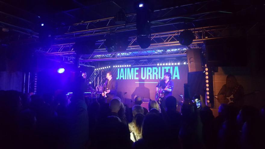 Jaime Urrutia en la sala R.E.M. / F. C.