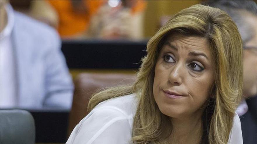 Susana Díaz dice que se ha paralizado Aznalcóllar cuando se ha conocido el auto