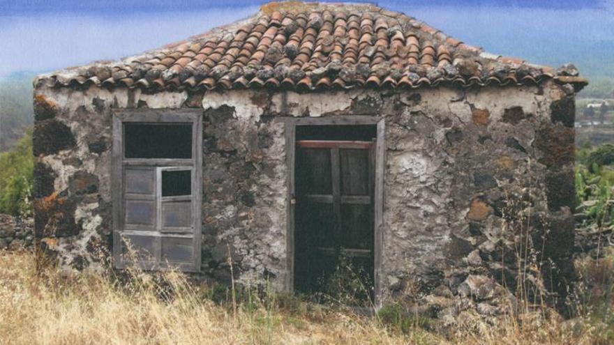 Imagen incluida en la petición de firmas para salvar las casas terreras canarias