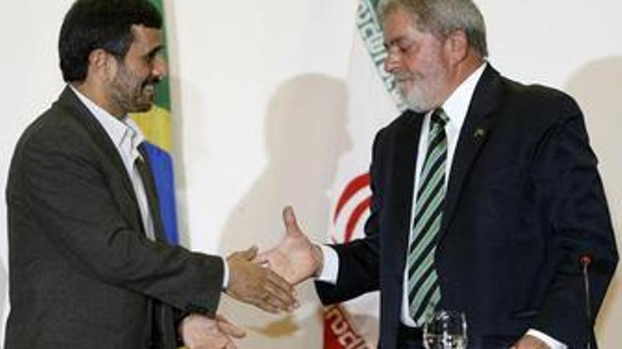 Lula defiende el enriquecimiento de uranio de Irán para fines pacíficos