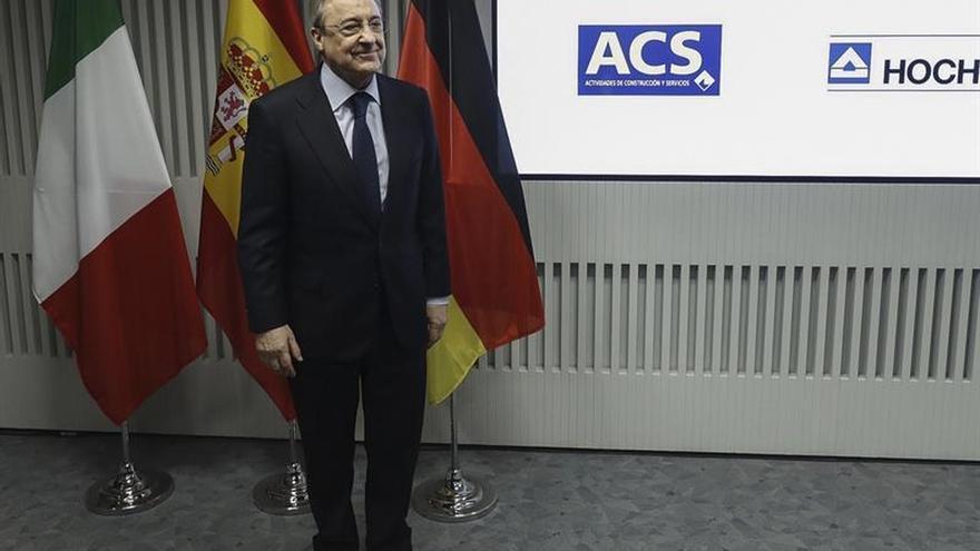 ACS prevé ganar el 35 % más en 2019 frente a 2017 tras comprar Abertis
