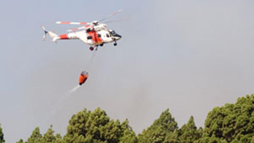 Tres imputados por el incendio forestal de La Palma