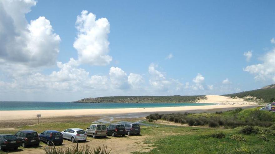Hallan el cadáver de un subsahariano en la playa de Bolonia, en Tarifa (Cádiz)
