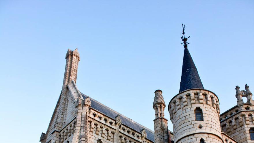 Palacio Episcopal de Astorga, edificio de Antonio Gaudí.