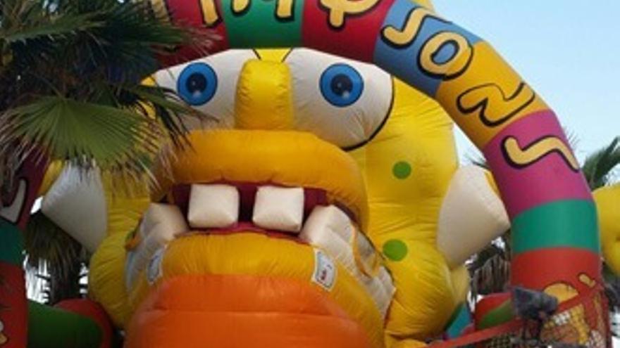 La atracción 'fake' playera de 'Los Simpson' que 'aterra' a niños españoles