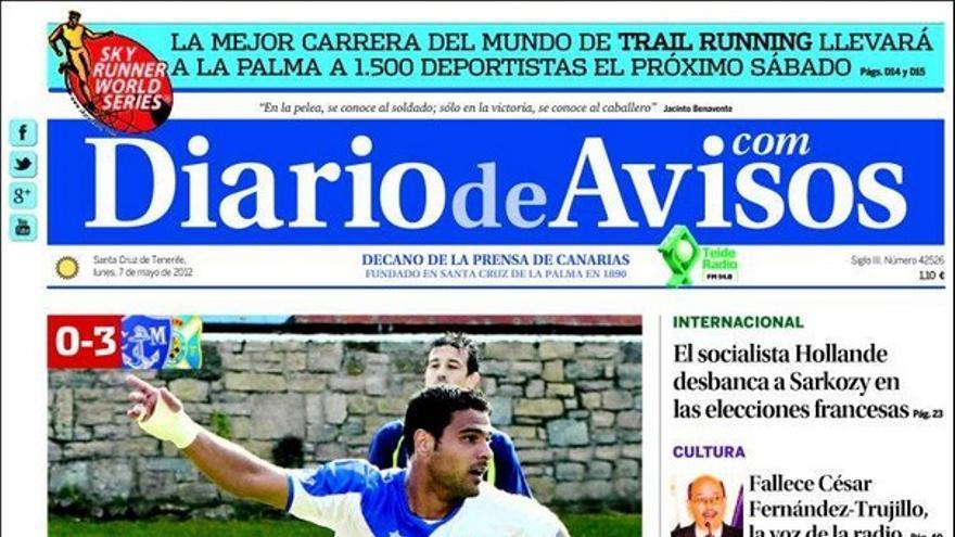 De las portadas del día (07/05/2012) #3