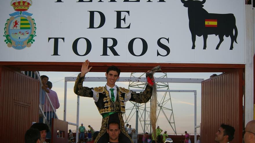 Villaseca de la Sagra homenajeará este sábado al torero Víctor Barrio, ganador del certamen 'Alfarero de Oro' en 2010