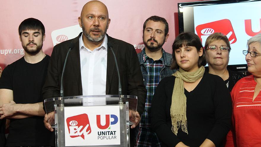 El diputado Ricardo Sixto encabeza la candidatura de Unitat Popular en la Comunitat Valenciana