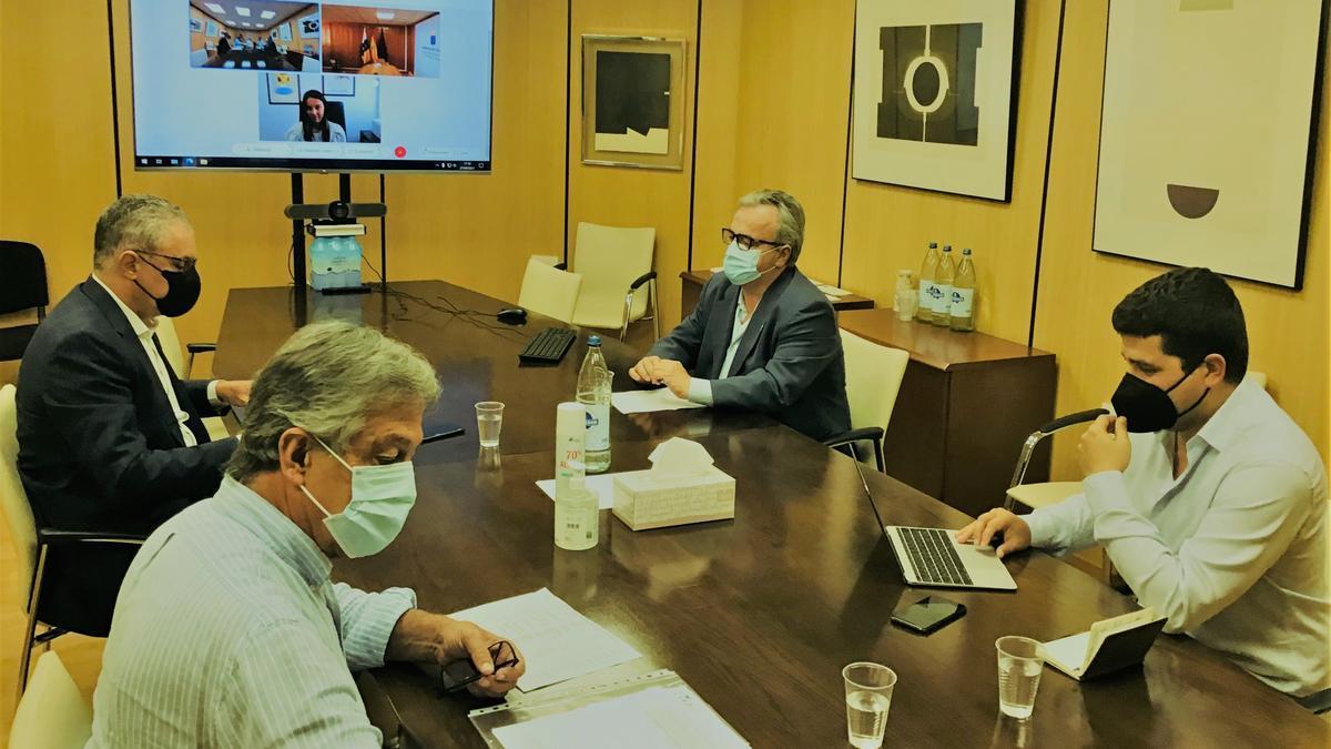 Reunión del Consejo de Administración de Visocan.