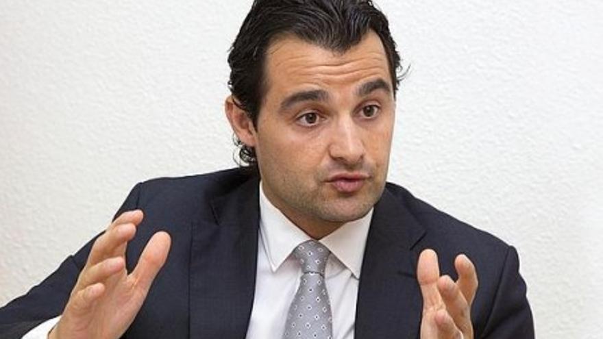 Eduardo Dolón, vicepresidente de la Diputación de Alicante.