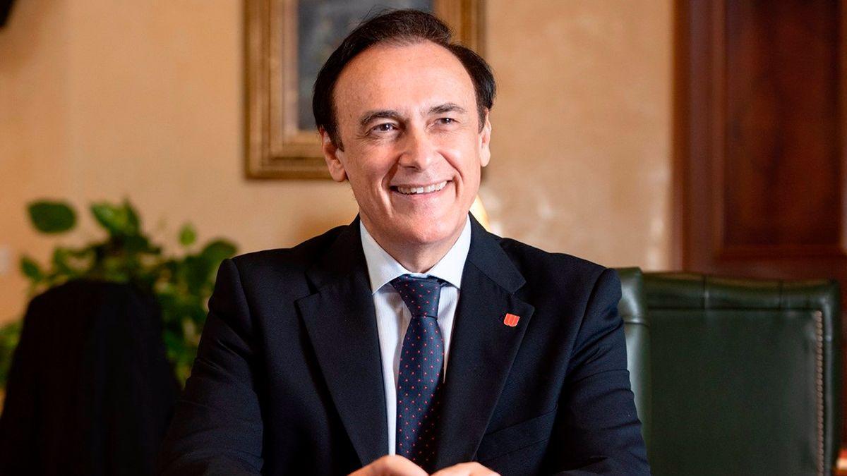 El presidente de Crue Universidades Españolas y rector de la Universidad de Córdoba, José Carlos Gómez Villamandos.